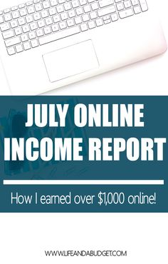Come see how this blogger made over $1,000 from their online side hustles. If you're interested in freelancing and blogging, this post is a must read!