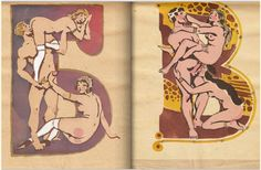 The fascinating scans come from an alphabet picture book published around 1931, allegedly to fight widespread illiteracy across the vast Soviet territories. It was drawn by no less than Sergey Merkurov, the former People's Artist of the USSR and an academic at the Soviet Academy of Arts.
