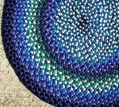 Braided Rag Rug Instructions - I want to upcycle old jeans to make one of these.