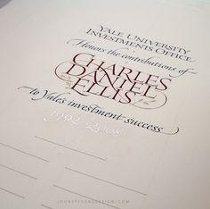 Hand Written Documents | John Stevens Design