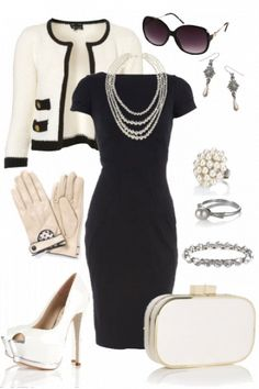 "Winning Outfit ""Mademoiselle"" by Amie #fashion #style inspired by Coco Chanel"