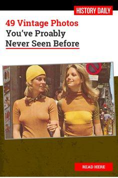 1970s Hippie Girls Go For a Stroll