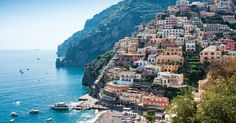 Belmond Hotel Caruso Ravello, Italy sky outdoor mountain water Sea Coast City Town promontory Nature tourism terrain coastal and oceanic landforms Village bay cape travel canyon vacation cliff Ocean tree rock