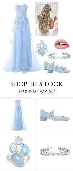 """""""Alice's wonderland wedding"""" by lozzaloux2 ❤ liked on Polyvore featuring Reception, Christian Louboutin and Allurez"""