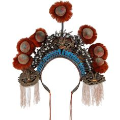Opera headdress