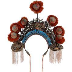 Opera headdress