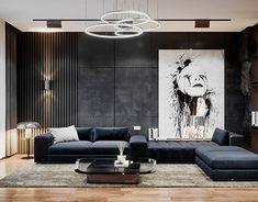 Interior Exterior, Luxury Interior, Home Interior Design, Living Room Sofa, Living Room Interior, Living Room Decor, Luxury Rooms, Luxury Living, Apartment Interior