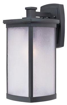 9743a034991 Maxim Lighting 3254FSBZ Terrace 1 Light 16 inch Bronze Outdoor Wall Mount