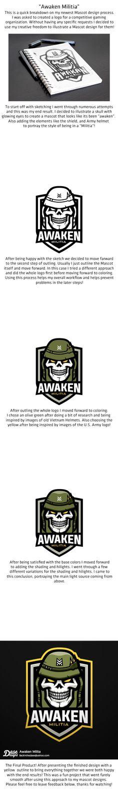Awaken Militia (Case Study) on Behance
