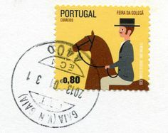 *Portugal – Page 2 – Remembering Letters and Postcards Postage Stamp Design, Postage Stamps, Portugal, Portuguese Culture, Going Postal, Horse Art, Mail Art, Stamp Collecting, Old Things