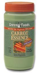 Carrot Essence by Green Foods 6.8 Ounces by Green Foods. $17.99. Carrot Essence by Green Foods 6.8 Ounces. Save 23%!