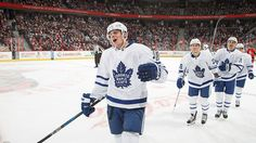 Auston Matthews made history Wednesday night by becoming the first player in the modern era to score four goals in his NHL debut. Naturally, his performance set Twitter on fire with love for the Toronto Maple Leafs rookie.
