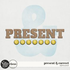 PRESENT & CORRECT | Alpha These two alphas give you some extra options when creating your title work. The brads are perfect for accenting or numbering whilst the perforated wood alpha is big and bold enough to really capture and punctuate those titles in an eye catching way.  DOWNLOAD INCLUDES:   1 set of Perforated woodchips [A-Z Uppercase Letters] + [0-9 Numerals] +punctuation. 1 set of Brads [a-z Lowercase Letters] + [0-9 Numerals] + punctuation. + handy sheet sets.