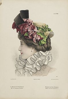 1904 hat shape and trims