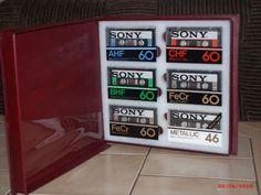 Sony Compact Cassetten Collection (unbenutzt) in einer Sammlerbox