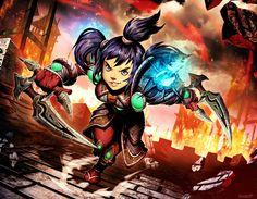 Warcraft - Abbie Whizzleblade by GENZOMAN.deviantart.com on @DeviantArt