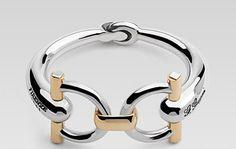 Guccie horsebit bracelet   $3390
