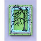 Crackled Frame Art