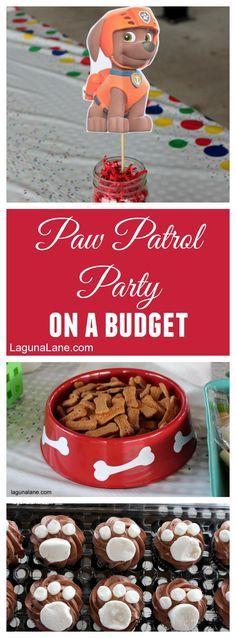 Paw Patrol Party on a Budget | LagunaLane.com