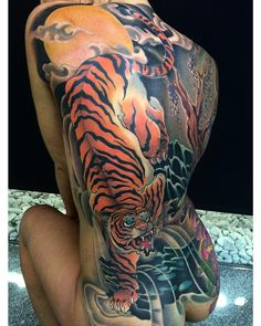 i like horimono. — Finished the backpiece of Sandra!! Thanks very...