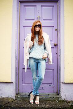 Petite fashion bloggers : Retro Flame :: BombPetite.com