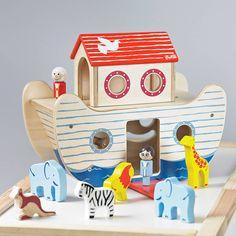 wooden noah's ark toy by jammtoys | notonthehighstreet.com