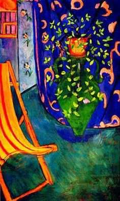 "Corner of Studio, Henri Matisse. ""All things considered, there is only Matisse."" — Pablo Picasso"