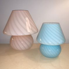 Murano shroomie lamps are back by popular demand, but this time in pastels! Cute Furniture, Room Accessories, Dream Rooms, My Room, Room Inspiration, Bedroom Decor, Pastel Pink, House Design, Bedhead