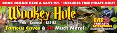 Wookey Hole Caves, Attractions and Hotel