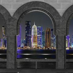 Good Night #Doha #Qatar @jalbuainain Like Comment Tag your Awesome Photos #Qatarism