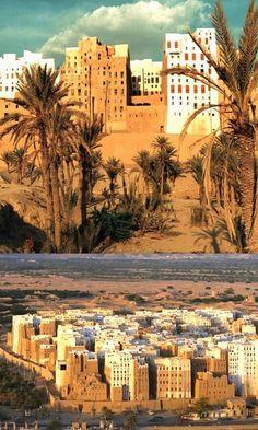 Shibam (Rub al Khali desert), Yemen
