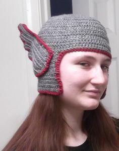 Thor Hat, free pattern