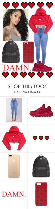 """❤️‼️"" by miixed ❤ liked on Polyvore featuring NIKE, Retrò and MCM"
