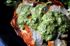 Rich, Raw & Creamy Paleo Cilantro Sauce. Comes at a perfect time! Looking for sauces to add pizazz to our food.