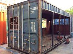 No te pierdas las imágenes de este contenedor reciclado paso…