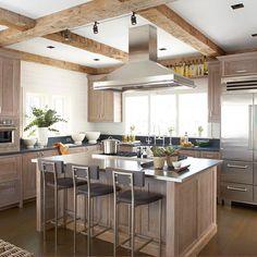 Metal Kitchen Countertops #kitchenideas #contemporaryfurniture #expensivefurniture