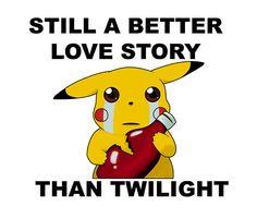 Pikachu; Still A Better Love Story   Made byPineappleBunny