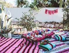 End of Summer Bohemian Backyard Party - Inspired By This