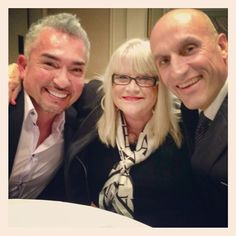 Cesar, Deb and Heinz (winners of a Cesar Millan Foundation sweepstakes) at the Dogcatemy Rescue Awards Gala. Good times! #muttigrees #dog #dogrescue #friends #leaderofthepack