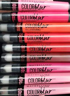 Maybelline Color Blur Matte Lip Pencils