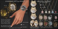 PURSUIT of TIME (SOON Watchs will available at GACHA GUARDIAN) - Ava Way