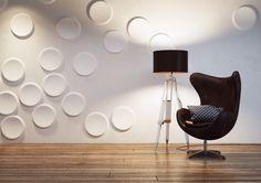 Dekorativní sádrové prvky v nesou to interiéru hravého ducha