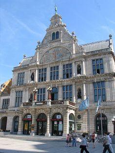 NTG Theatre building in Ghent (Belgium)