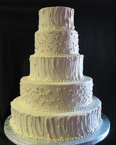 Sublime Bakery: Rough Buttercream Wedding Cake