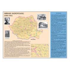 Mihail Sadoveanu (1880-1961) Postmodernism, Map, School, Character, Literatura, Location Map, Post Modern History, Maps, Postmodern Literature