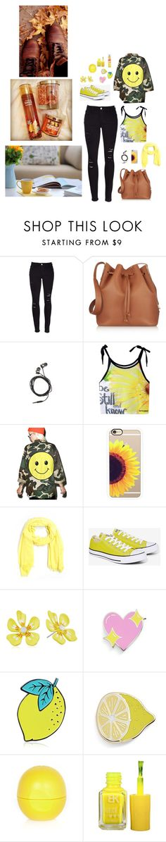 """Will they tell your story?"" by theater-potter-dance-warriors ❤ liked on Polyvore featuring Frame Denim, Sophie Hulme, Nicole Miller, Audrey 3+1, Casetify, J.Crew, Converse, Betsey Johnson, Big Bud Press and River Island"