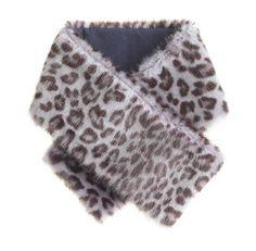 Girls' fur stole