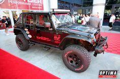 Black #Jeep at #SEMA 2013