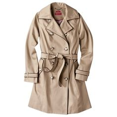 Target has a Burberry-esque trench coat on sale for $49.99. Click thru spree.com before you buy for 3% cashback