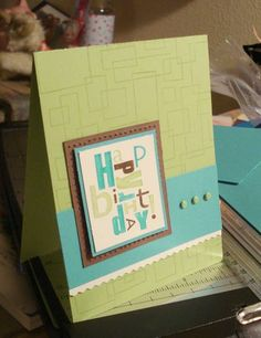 Geometric Birthday by apigonfire - Cards and Paper Crafts at Splitcoaststampers